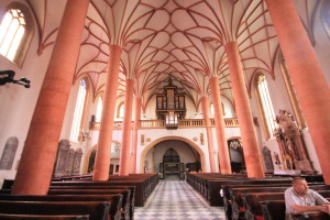 Villach_-_St_Jakob_-_Blick_zur_Orgelempore
