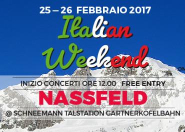 UN WEEKEND ITALIANO A NASSFELD PRAMOLLO