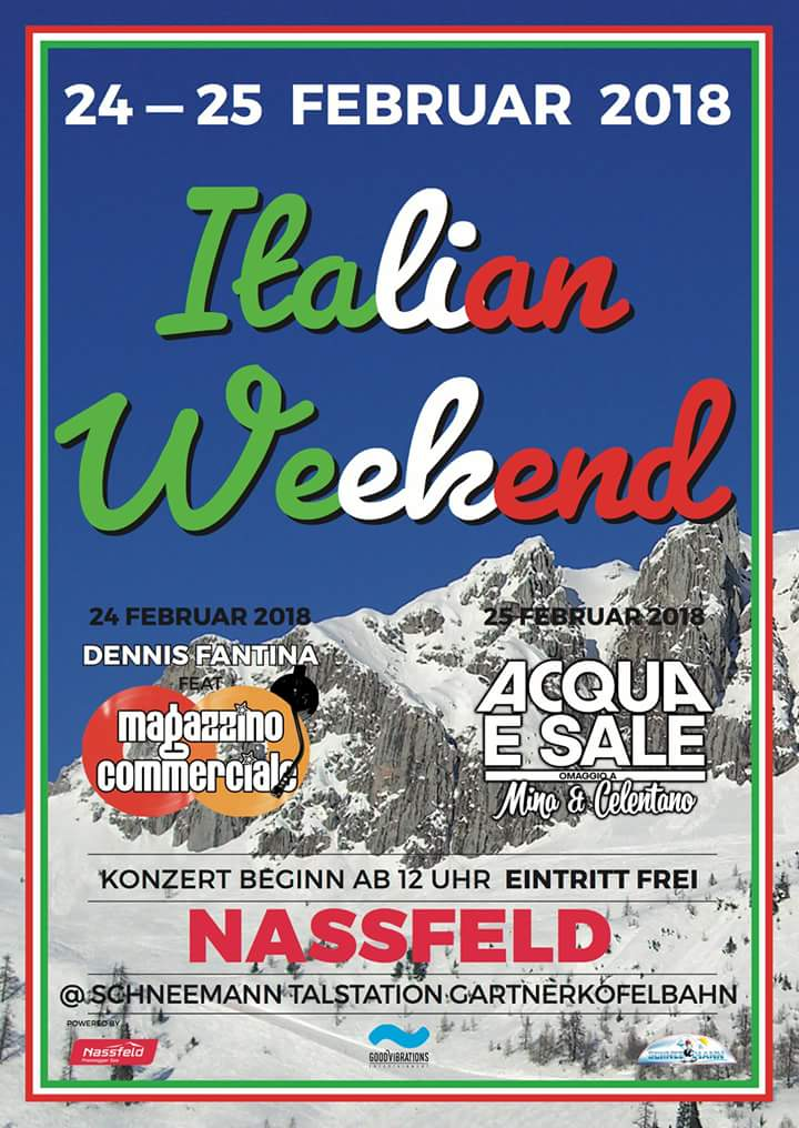 ItalianWeekendNassfeld