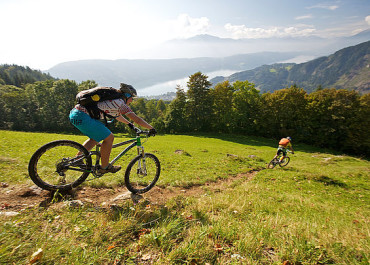 MOUNTAIN BIKE IN CARINZIA